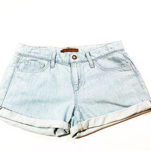 Joe's Jeans Light Wash Denim Shorts Size 28